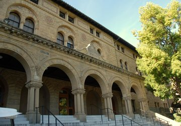 Arches and columns of Encina Hall