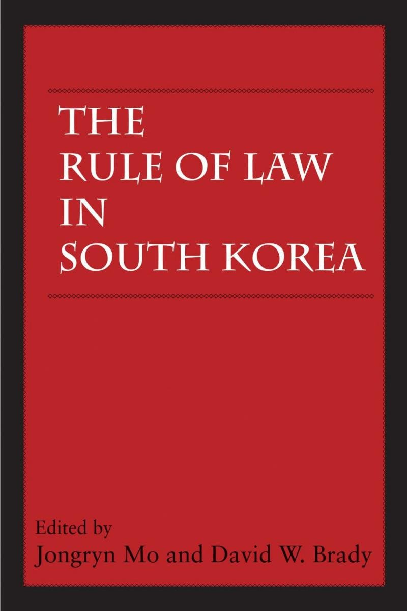 Rule of Law in South Korea
